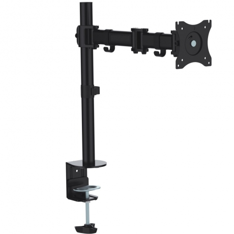 Single Arm Desk Clamp - 13 to 27 Inch - Tilt, Turn, Swivel & Rotate - OL05-073