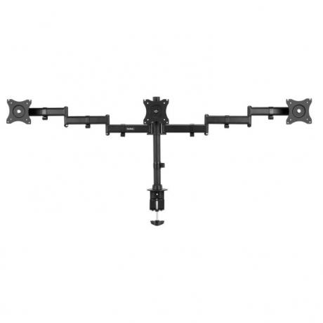 TRIPLE MONITOR DESK CLAMP 13-27 Inch UPTO 8Kgs each - OL05-084